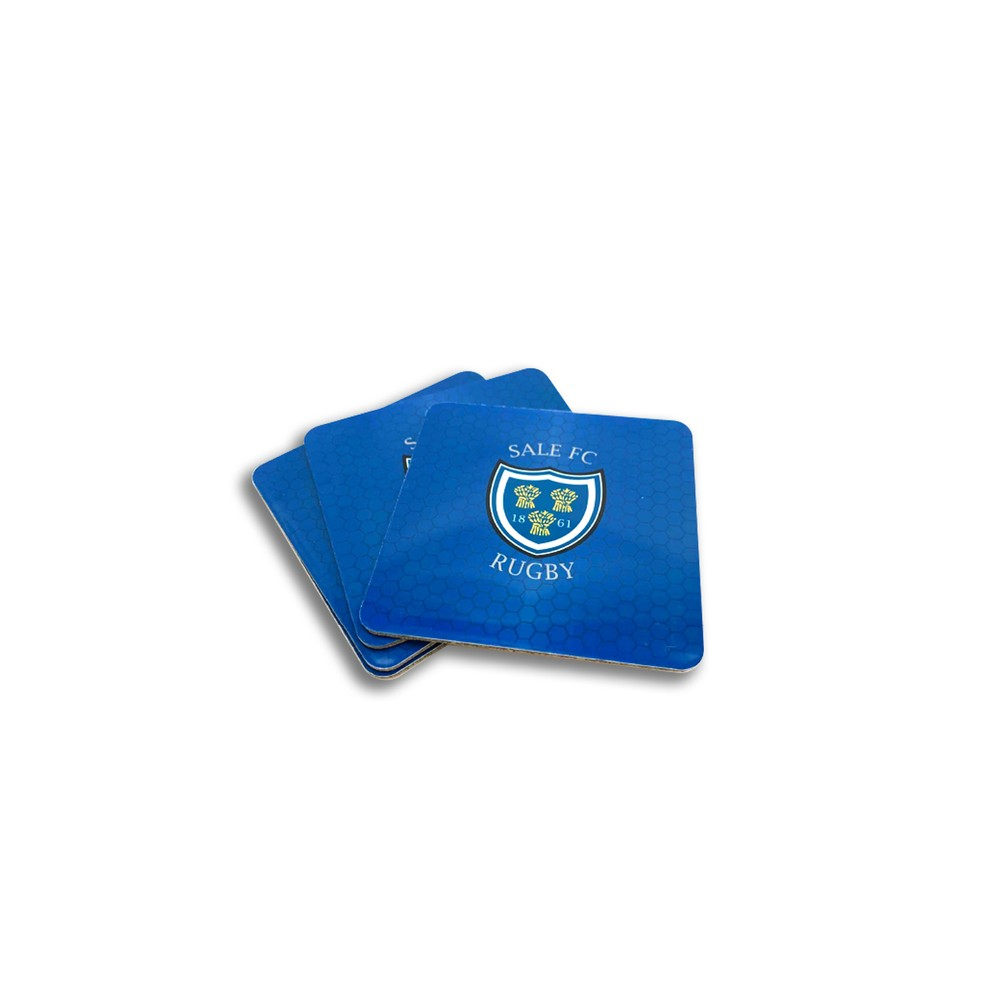 SALE FC RUGBY COASTER SET OF 4 ROYAL BLUE