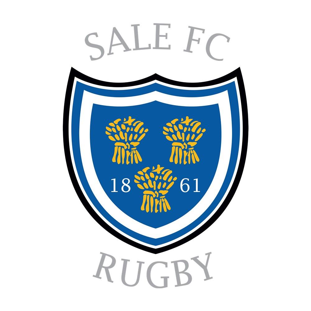 SALE FC RUGBY CLUB BABYGROW WHITE