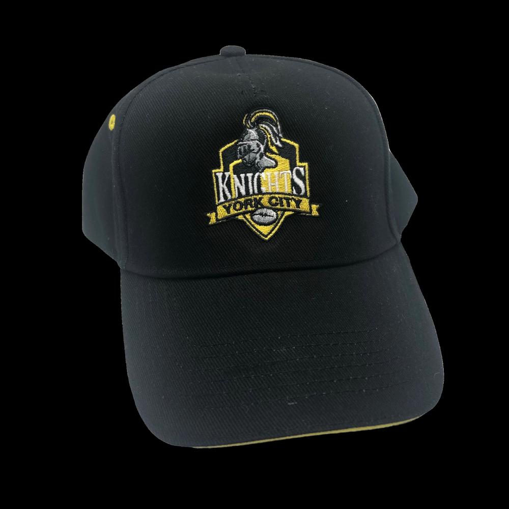 YCK YCK Black Crest Cap