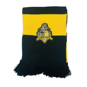 Supro YCK  Black and Amber Bar Scarf