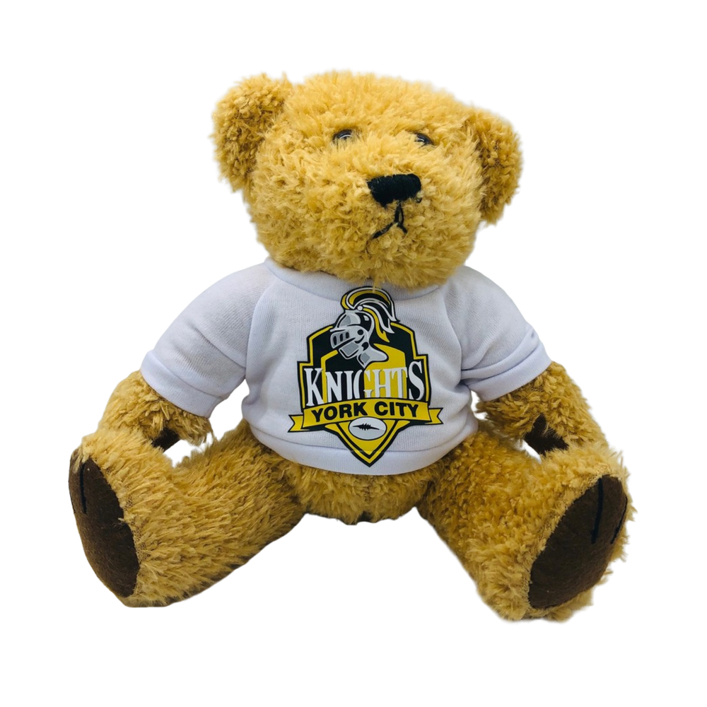 YCK YCK Crest Teddy Bear - Medium