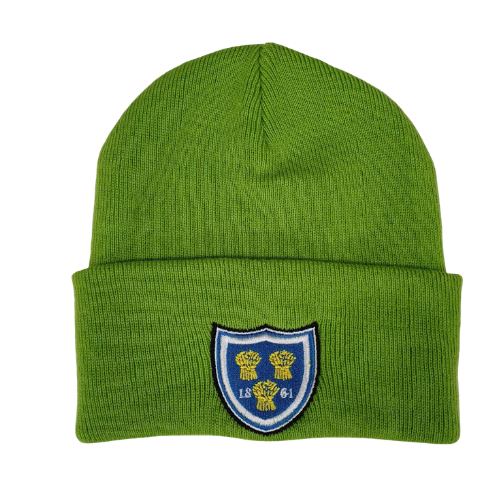 SALE FC RUGBY GREEN SHIELD BEANIE
