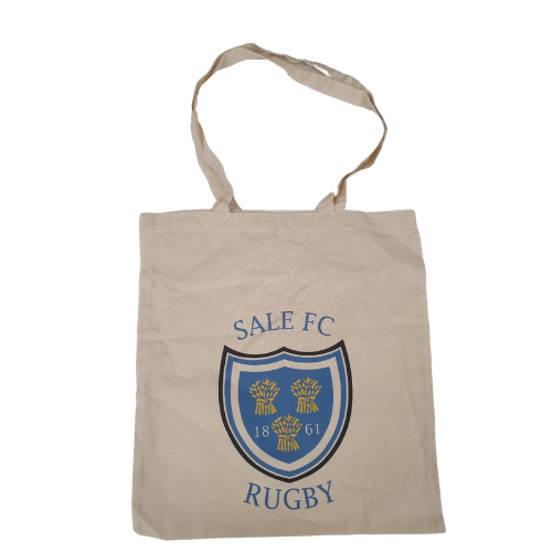 SALE FC RUGBY COTTON BAG NATURAL