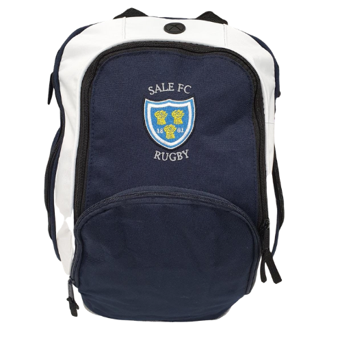 SALE FC RUGBY TEAM BACK PACK ROYAL BLUE / WHITE