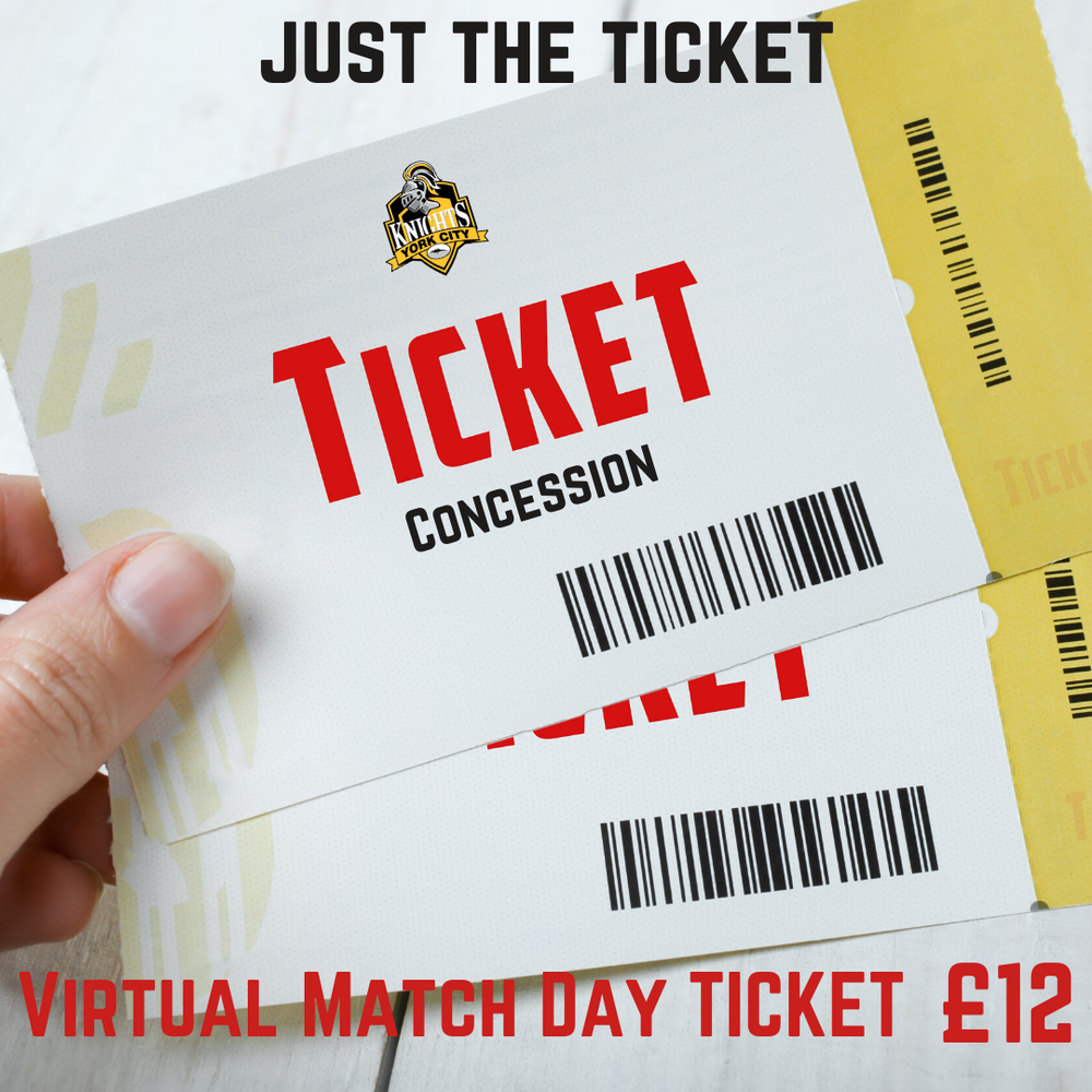 YCK Virtual Match Day Concession Ticket