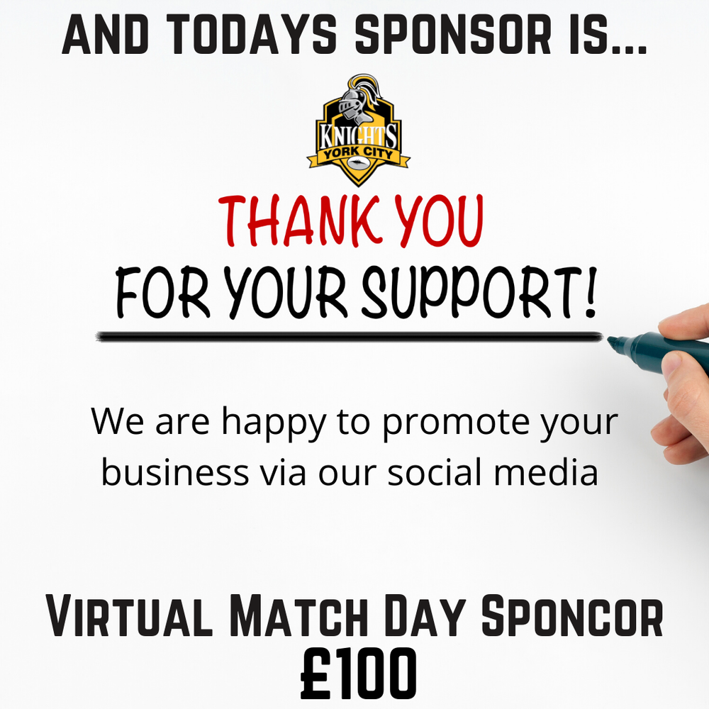 YCK Virtual Match Day Sponsor