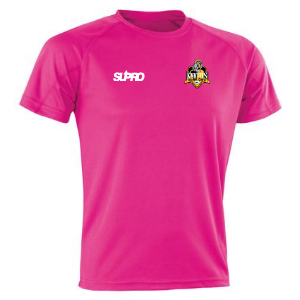 Supro Supro Quick Dry Unisex Training top in Pink
