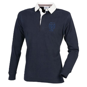 SALE FC RUGBY Sale FC Long Sleeve Super Soft Cotton Rugby Shirt Navy