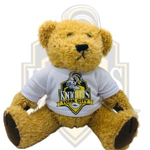 YCK Crest Teddy Bear - Small Beige