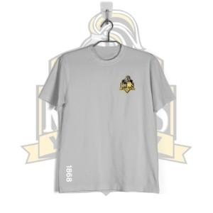 YCK YCK Crest 1868 Grey T-Shirt