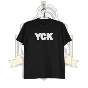 YCK Bold Black/White T-shirt Black