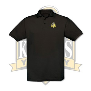 YCK YCK Embroidered Crest Polo