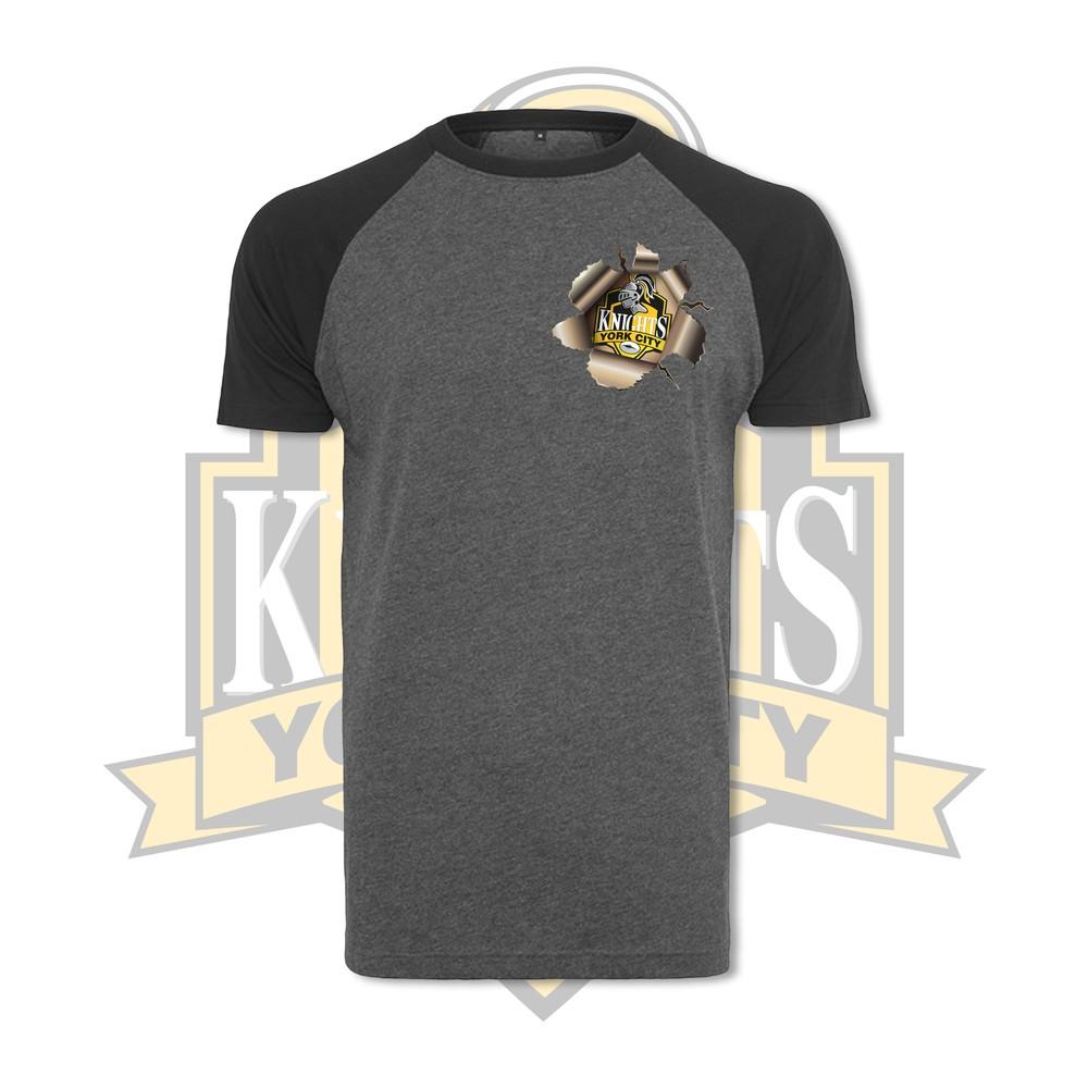 YCK YCK Breakout Contrast Sleeve T-Shirt