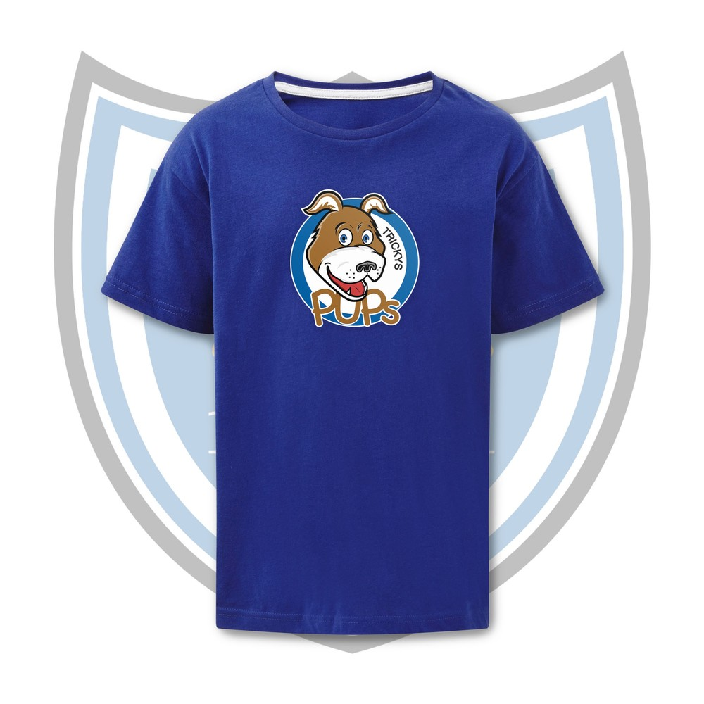SALE FC RUGBY Sale FC Tricky's Pups Kids T-Shirt Royal Blue