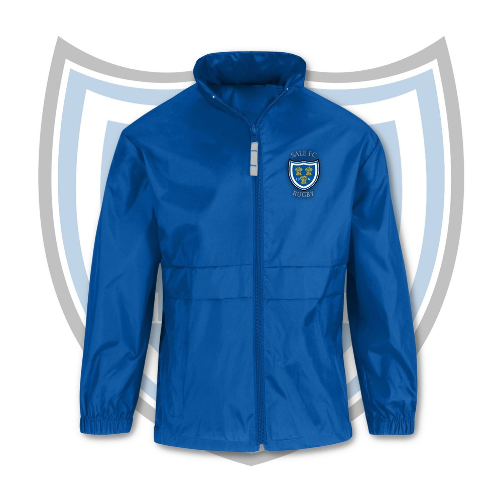 SALE FC RUGBY Sale FC Crest Supro Kids Windbreaker Jacket