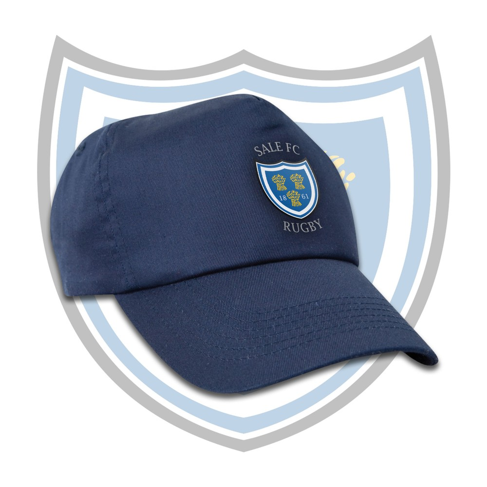 SALE FC RUGBY Sale FC Youth Crest Cap Navy