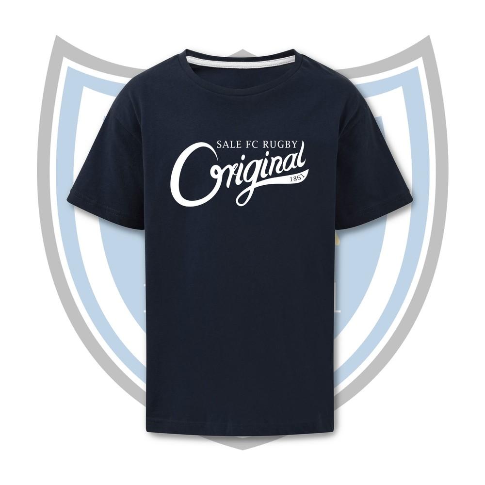 SALE FC RUGBY ORIGINALS T SHIRT Royal Blue