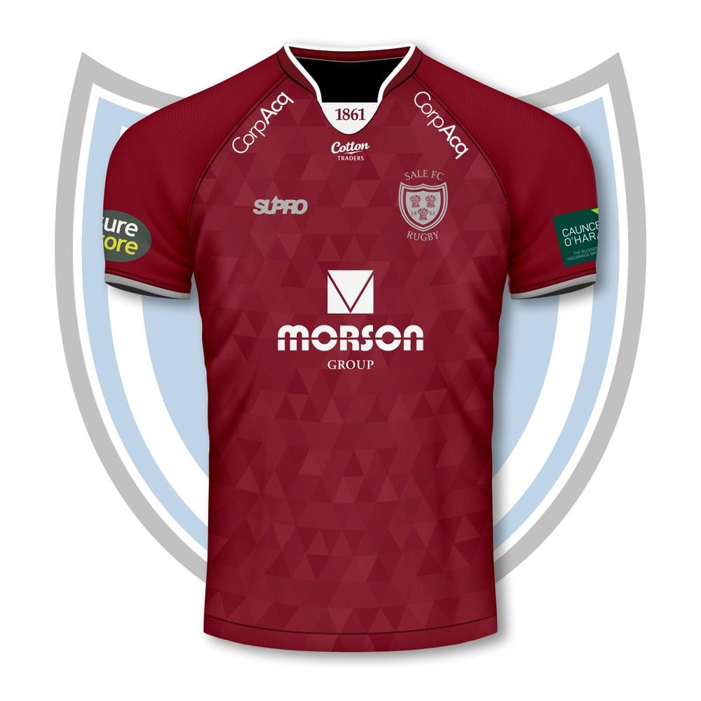 Supro Sale FC  Team Replica Shirt - Away - Adult - PRE ORDER DISPATCH W/C 20th SEP Wine