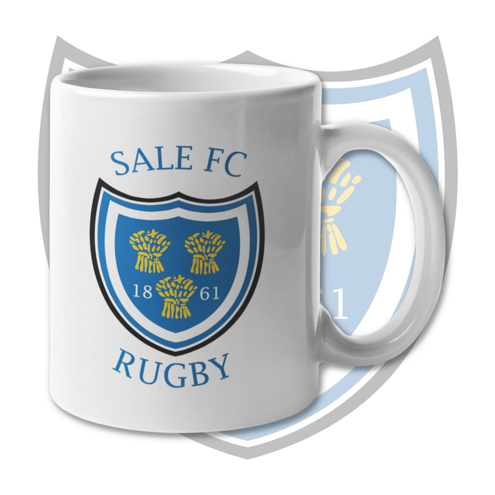 SALE FC RUGBY Sale FC Crest Mug Blue