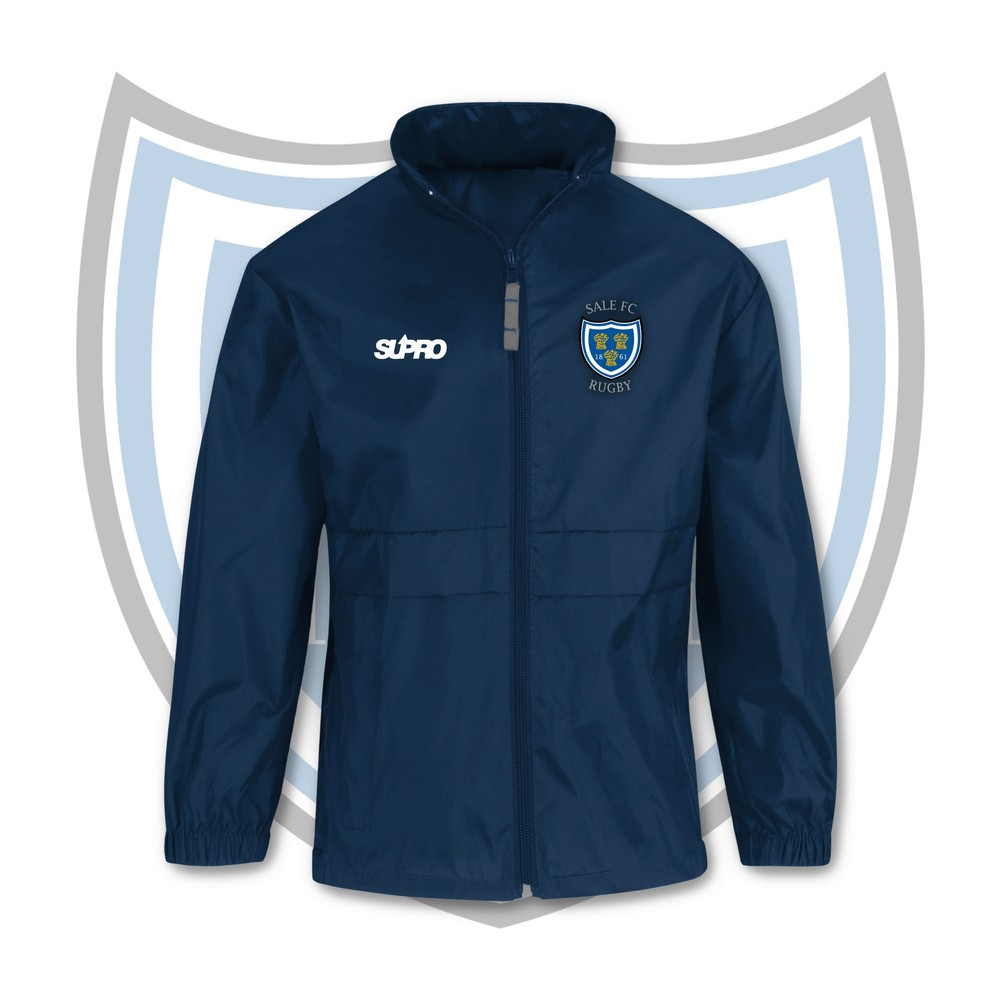 SALE FC RUGBY Sale FC Adult Water Repellent Jacket Navy