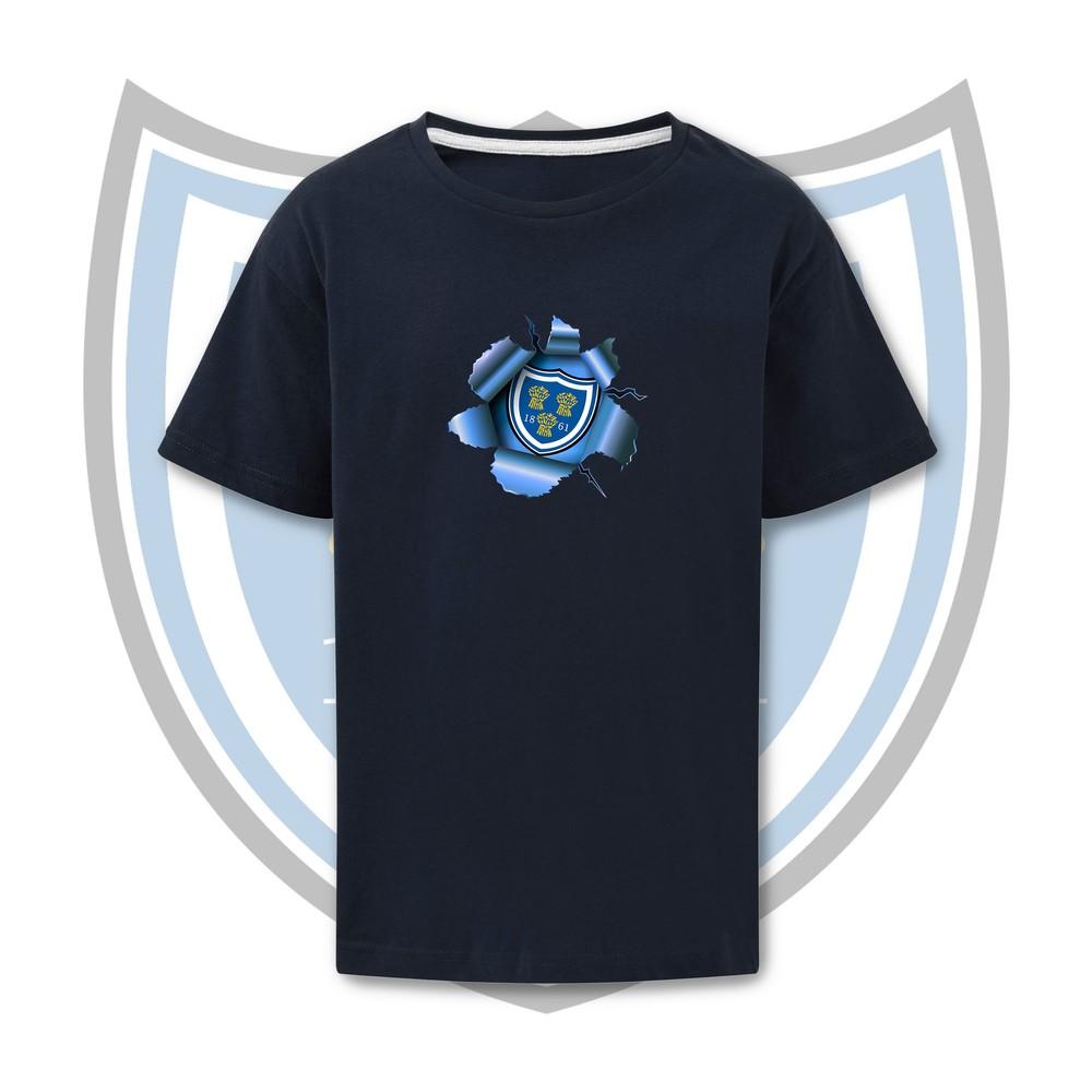 SALE FC RUGBY Sale FC Adult Breakout T-Shirt Navy