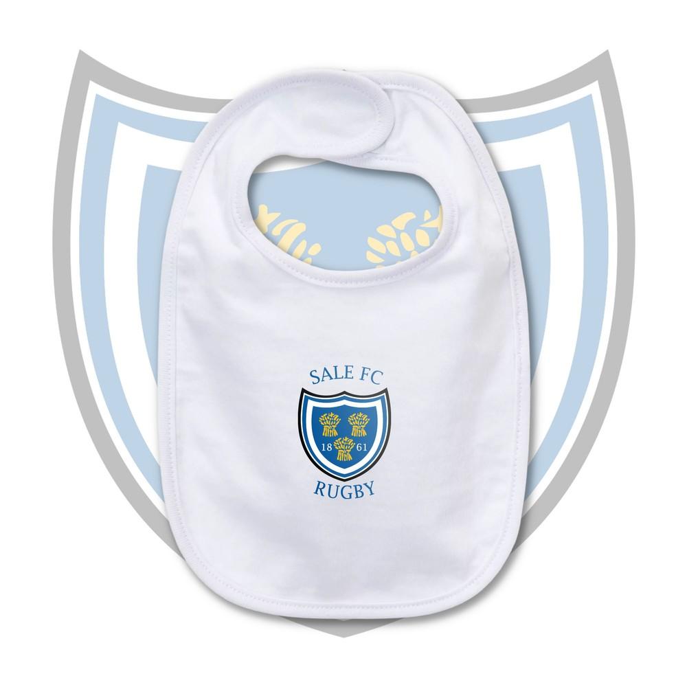 SALE FC RUGBY Sale FC Crest Baby Bib