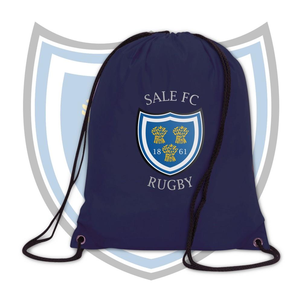 SALE FC RUGBY Sale FC Crest Drawstring Bag