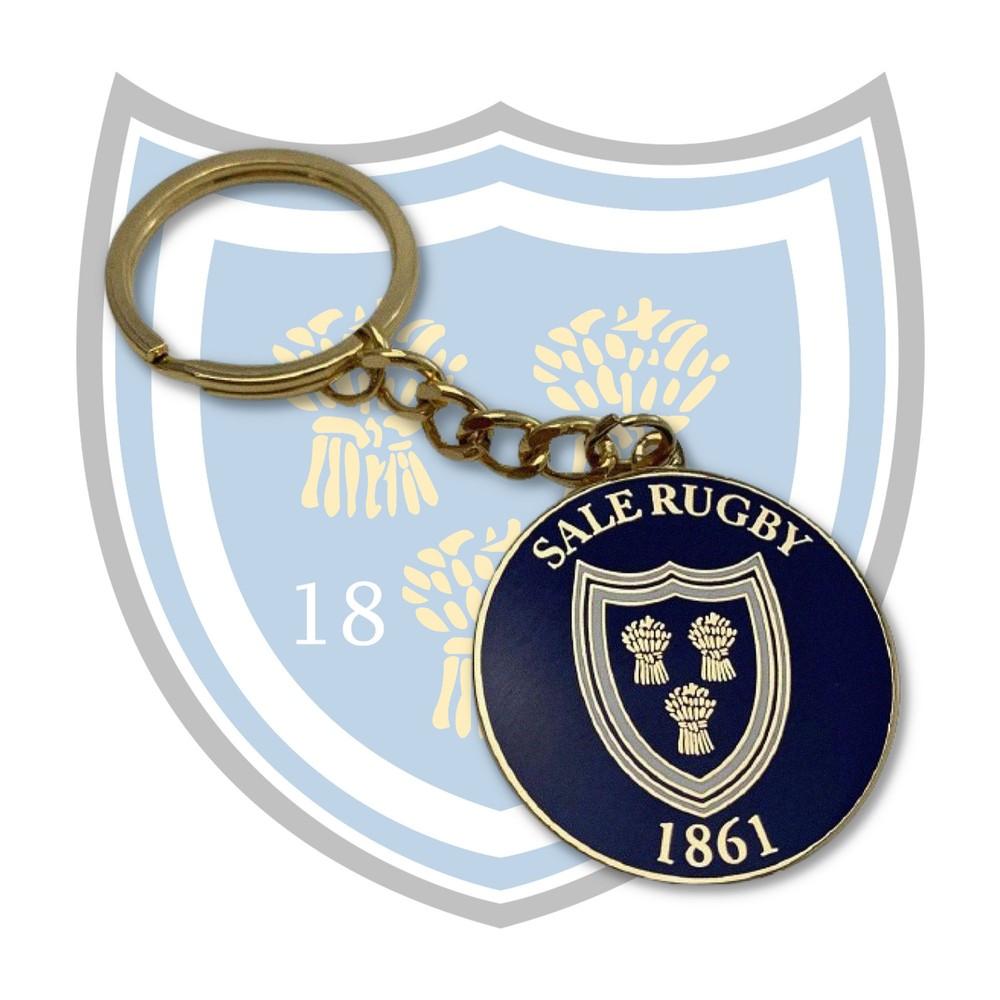 SALE FC RUGBY Sale FC Vintage Keyring
