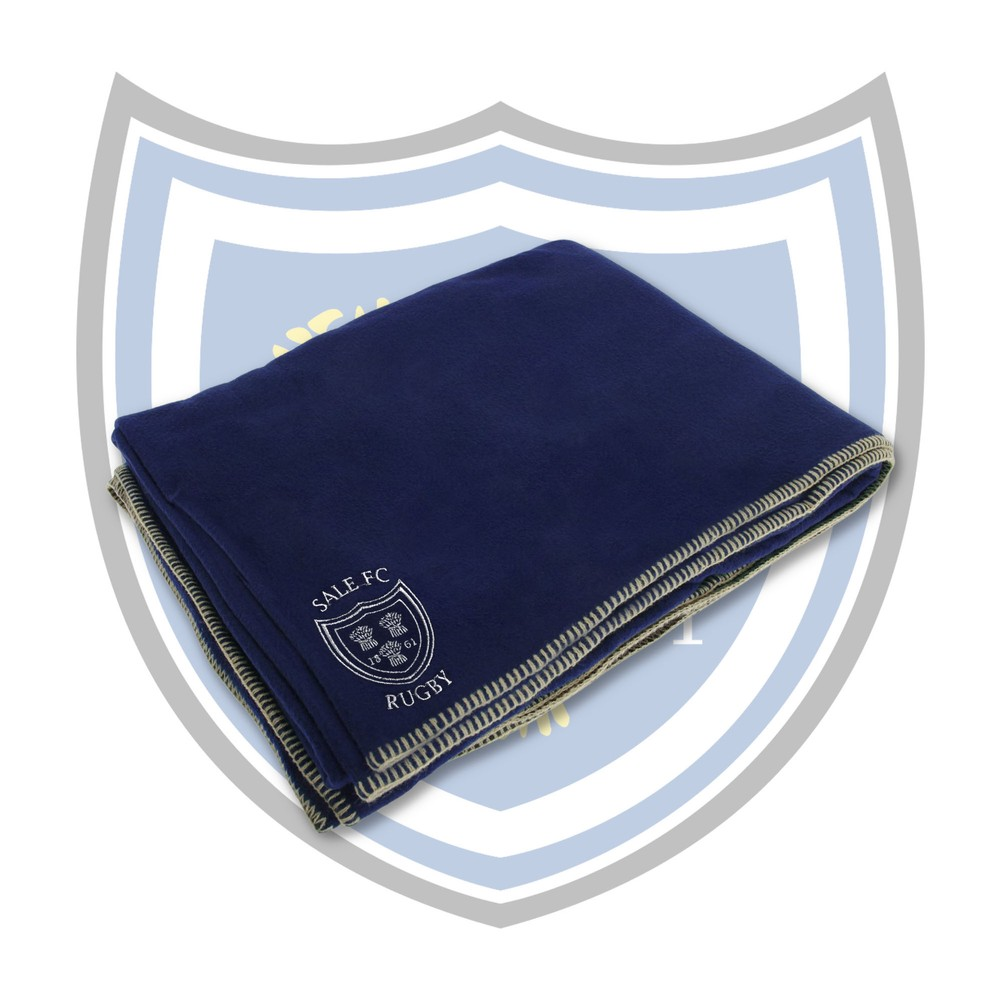 SALE FC RUGBY Sale FC Embroidered Stadium Blanket