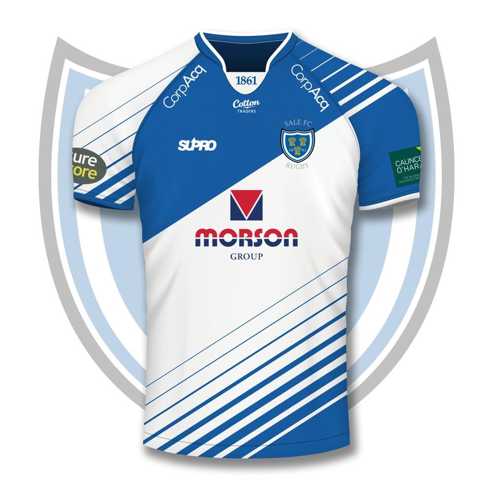 Supro Sale FC  Team Replica Shirt - Home - Adult - PRE ORDER Blue/White